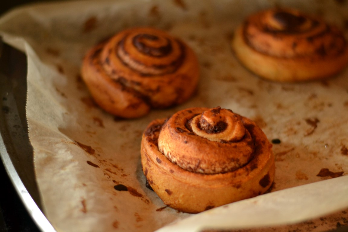 Christmas, breakfast, cinnamon buns