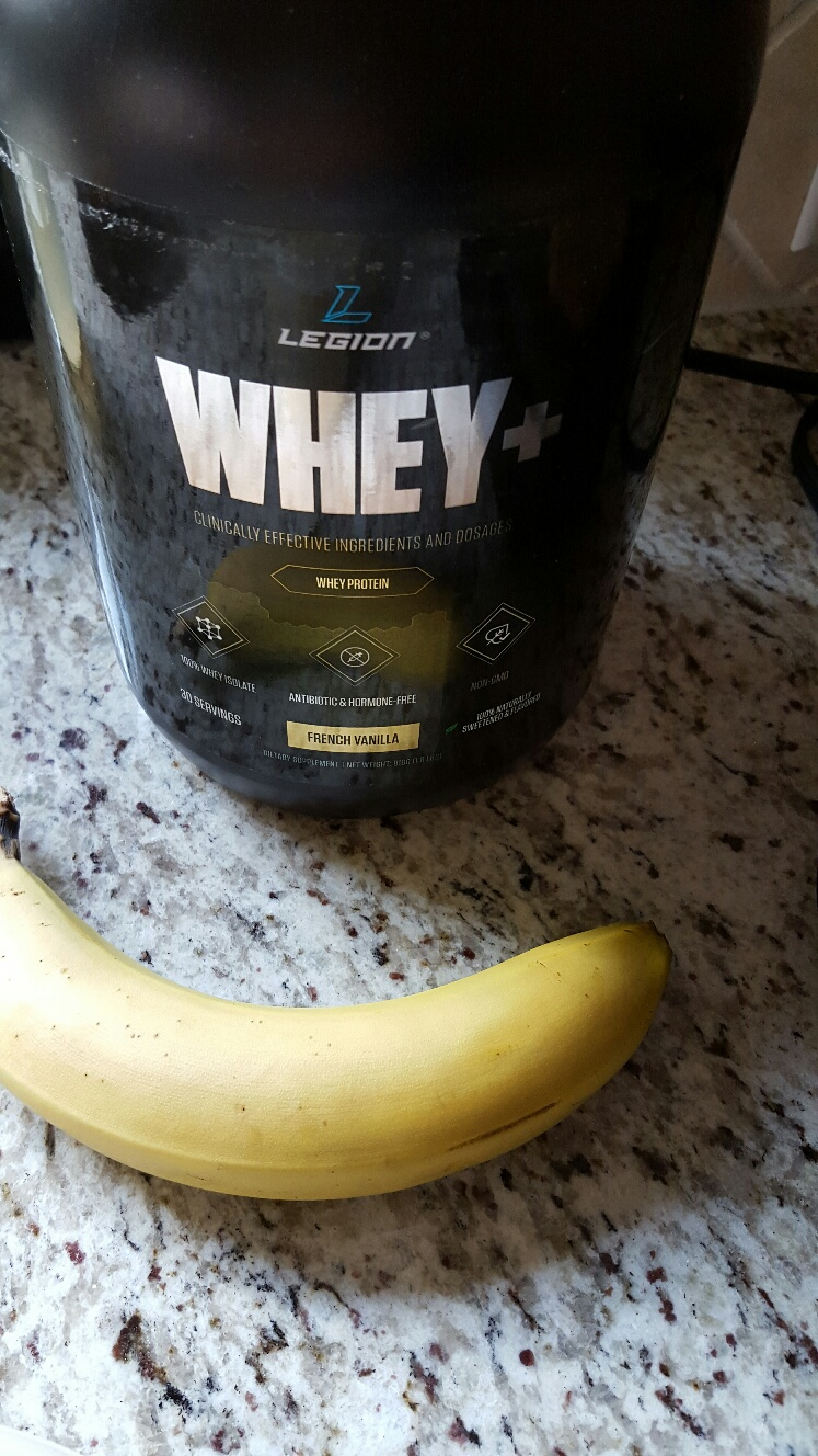 Legion Protein and Banana