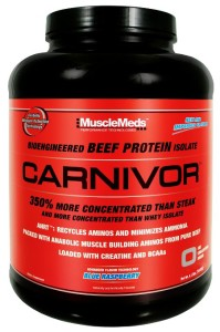 MuscleMeds Carnivore_Beef Protein Powder