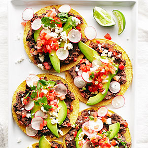 Meatless Monday_Mexican_black-bean-tostadas