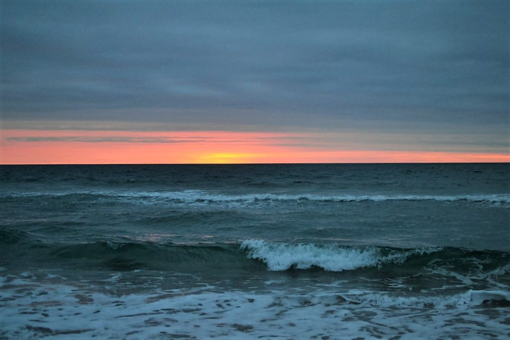 paper canoe, ocean, beach,sunrise, outer banks, obx, vacation, family, travel, north carolina, food