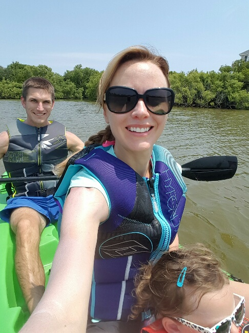 Kayaking with Family in Turtle Pond_OBX