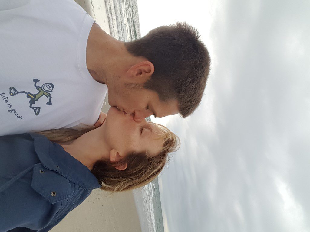 Kissing on the OBX Beach_2