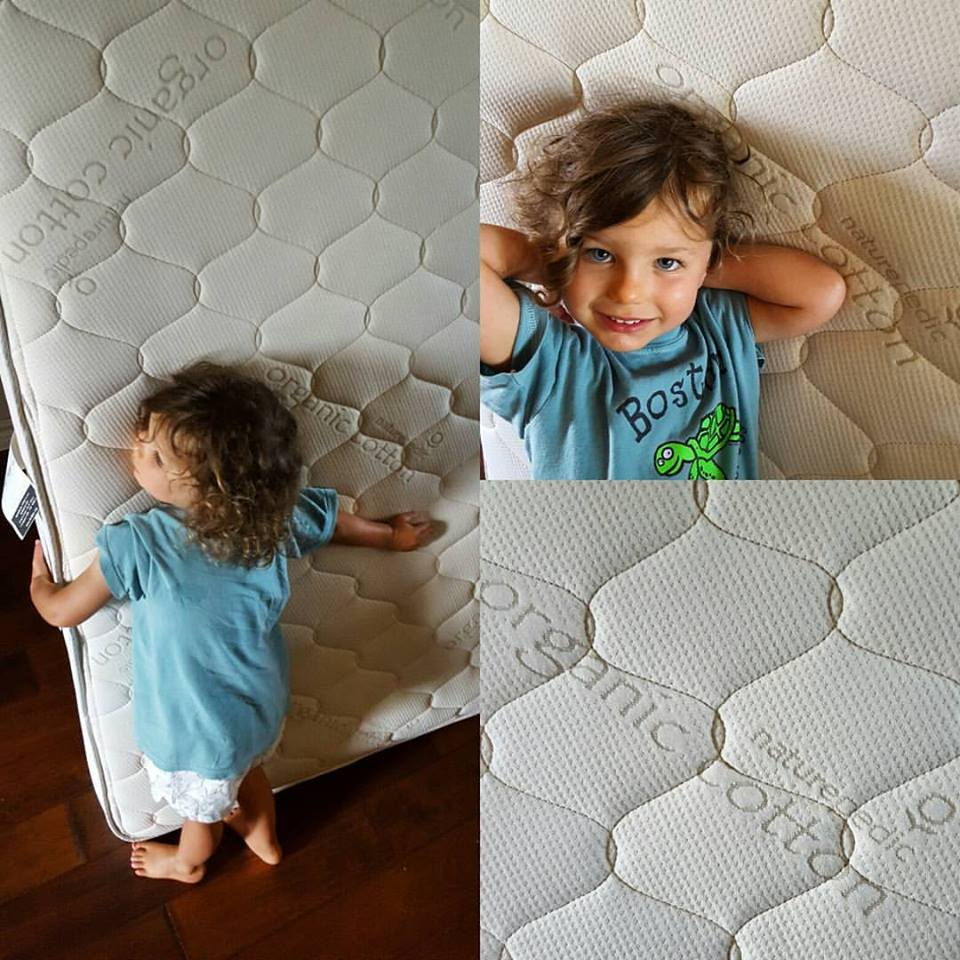 Naturepedic 2 in 1 Organic Cotton Kids' Mattress Instagram Pic