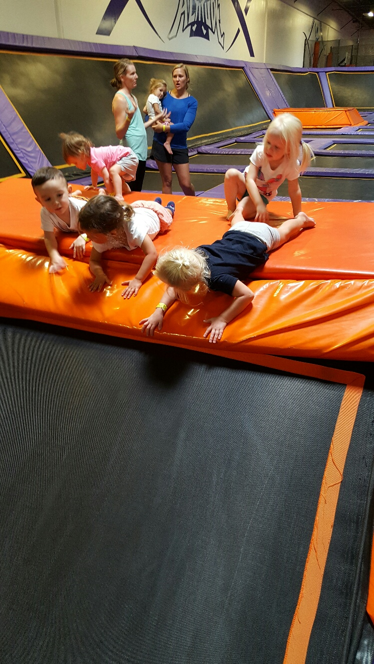 altitude trampoline park, toddler, parenting, jumping, kids