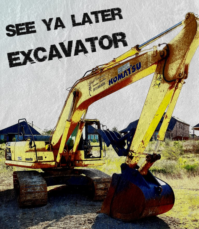 Teespring, excavator, shirt, t-shirt, kids, adults, clothes